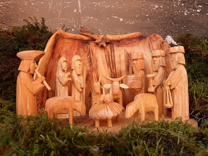 Christmas nativity scenes in Štanjel